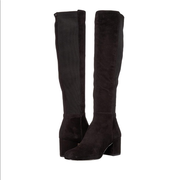 41c818004 Sam Edelman Valda Knee High Boots 9.5 Black